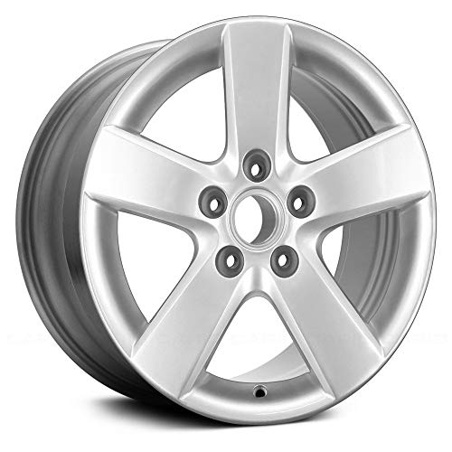 - Replacement 5 Spokes All Painted Silver Factory Alloy Wheel Fits Volkswagen Jetta