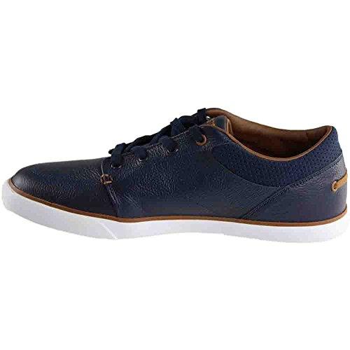 Lacoste Männer Bayliss Vulc 317 1 Sneaker Marine / Braun