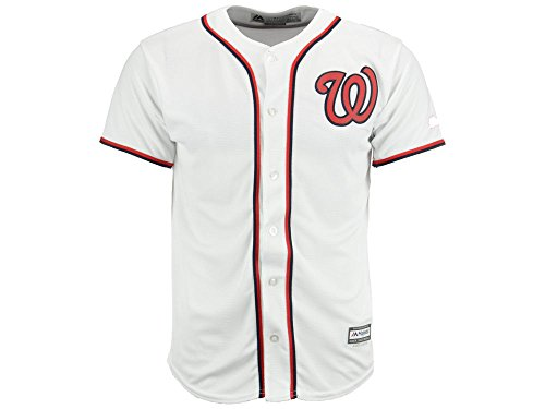 Nationals Jersey Youth Washington Home (MLB Youth Washington Nationals White Home Cool Base Jersey)