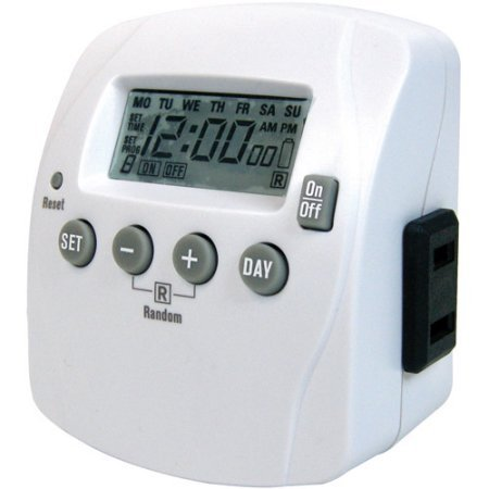 Primewire 2 Outlet 7 Day Digital Timer With 8 Settings