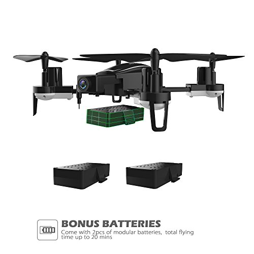 41d%2Bnwv5LsL - Holy Stone HS230 RC Racing FPV Drone with 120° FOV 720P HD Camera Live Video 45Km/h High Speed Wind Resistance Quadcopter with 5.8G LCD Screen Real Time Transmitter Includes Bonus Battery