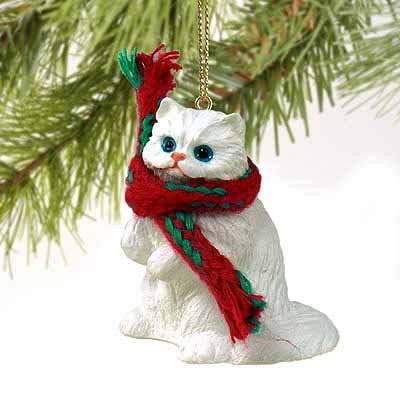 Persian Cat Tiny Miniature One Christmas Ornament -, used for sale  Delivered anywhere in USA
