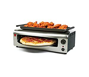 Amazon.com: Ronco Pizza & More, Black/Stainless: Kitchen & Dining