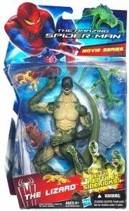 The Lizard with Reptile Sidekicks the Amazing Spiderman Movie Series 6 Inch Walmart Exclusive -
