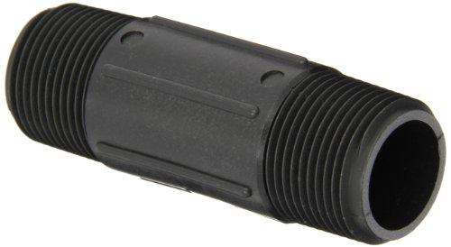 Banjo NIP100-4 Polypropylene Pipe Fitting, Nipple, Schedule 80, 1
