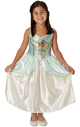 Rubie's Official Disney Princess Sequin Tiana Classic Costume, Childs Size Small Age 5-6 years, Height 116 -