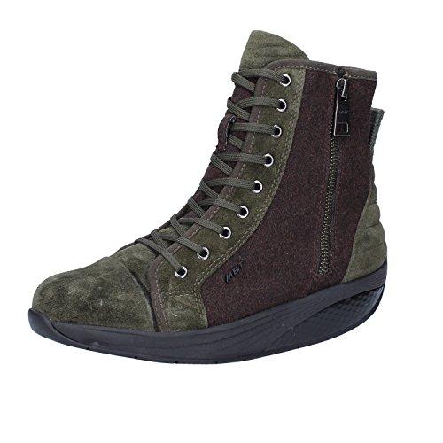 MBT , Damen Sneaker 37 Verde / Marrone