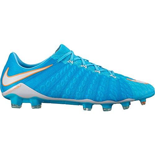 b3332497d30 NIKE Hypervenom Phantom III FG 881543-414 Polarized Blue Women s Soccer  Cleats (Size 9.5)