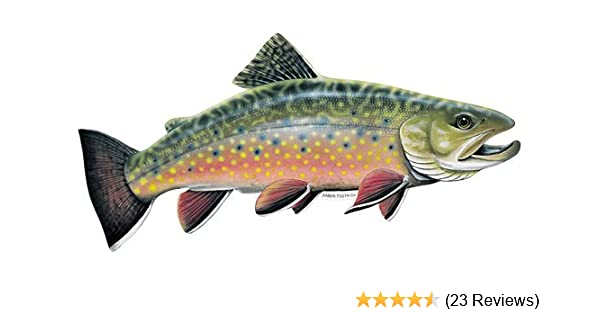 """Scientific Anglers Inc Fly Fishing Fish Sticker//Decal Approx 4""""New Authentic"""
