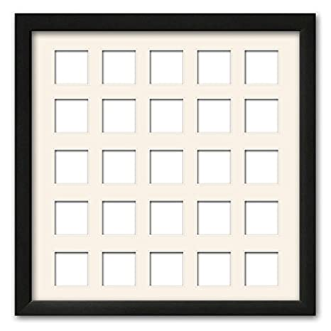 Amazon.com : Black Matted Instagram Collage Photo Frame - (25) 4\