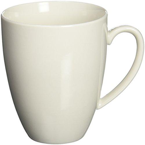Maxwell and Williams Basics Coupe Mug, 11.5-Ounce, White