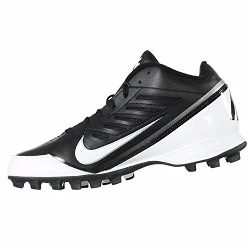 a76b2eaf4 NIKE Land Shark 3 4 US Mens (Black MetallicSilver Tornado ...
