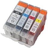 BCI-3e/4MP 4色セット Canon キャノン BCI-6+3eBK 互換インク 1年保証付 プリンター保証付
