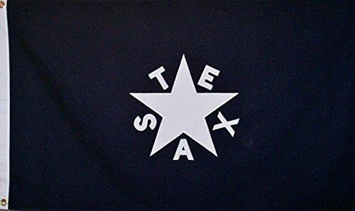Cheap 3×5 Cotton Zavala De Lorenzo Texas Republic State Flag by Life Gears