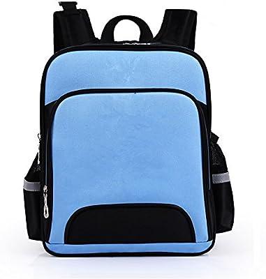 Xiaodiu - Mochila escolar para niños de 1 a 3 a 6 años, azul celeste