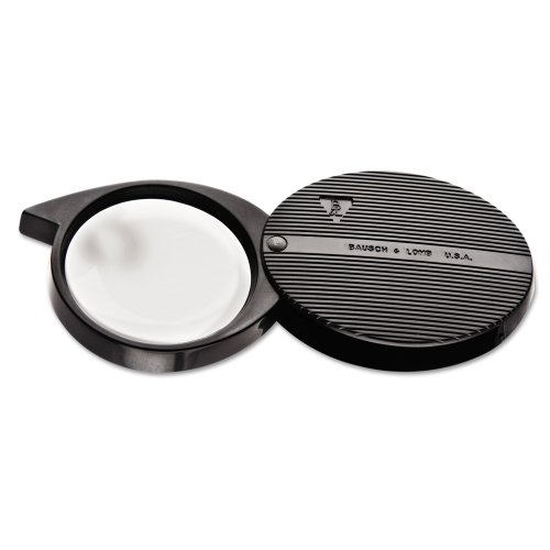 (Bausch & Lomb 4X Folded Pocket Magnifier, 36mm Diameter Lens (812354))
