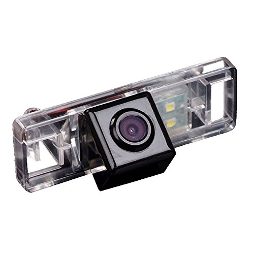170° Reversing Vehicle-Specific Camera Integrated in Number Plate Light License Rear View Backup camera for Sunny/ Qashqai/ X-Trail /Geniss /Pathfinder 2005-2011 / Dualis/ Navara/Juke