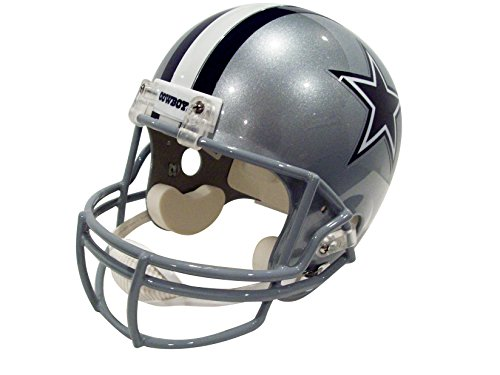 Dallas Cowboys Deluxe Replica Football Helmet Full Size -- (New Version) (Dallas Cowboys Deluxe Replica Helmet)
