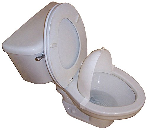 The Splatter Shield Potty Training Seat Urinal Toliet For Boys Potty Train and Aim and Keeps Toilet Clean (Splatter Shield)