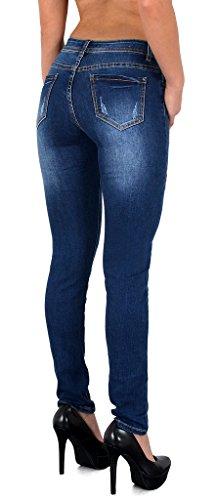 Pantalon Slim by Femmes en Z281 Vintage Skinny Jean tex rtro Femme Jean Z75 brod Fleur Jeans wqOnrPIqx