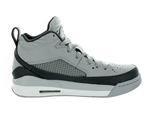 Nike Jordan hombres de Jordania vuelo 9,5baloncesto zapatos Wolf Grey/White/Dark Grey