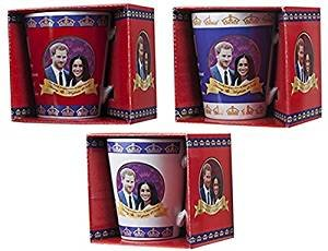 Used, Pack of 4-2018 Royal Wedding V Shape Mug Set - Harry for sale  Delivered anywhere in Canada