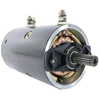 db electrical lrw0016 new winch motor for 12 volt warn double ball bearing  6hp, 20