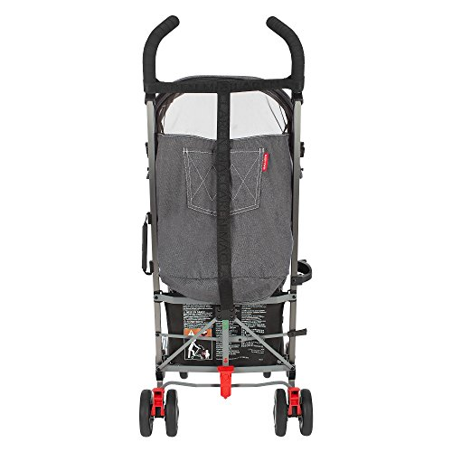 Maclaren Quest Denim Charcoal Stroller