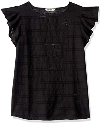 Mountain Khakis Womens Flutter Short Sleeve Shirt: Outdoor Casual Summer Tank, Black, Small