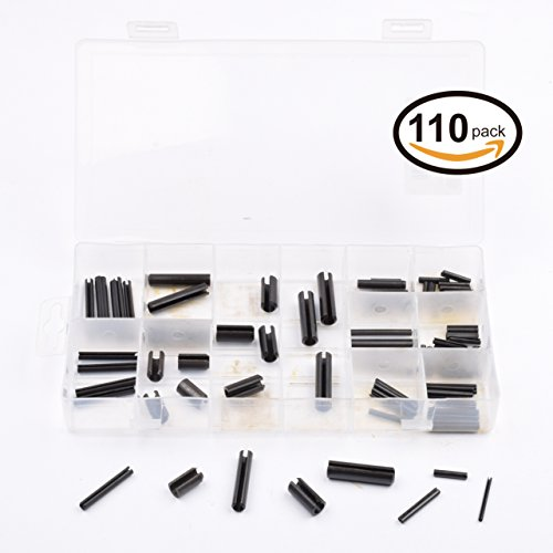 Seah Hardware110 Pieces Roll Pin Assortment - SAE (Pin Assortment Roll)