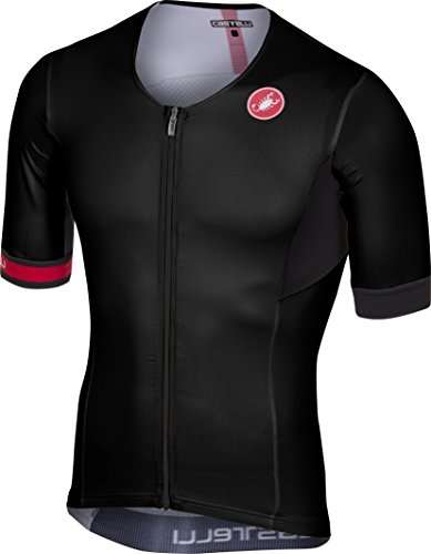 Castelli Free Speed Race Tri Jersey - Men's Black, XL