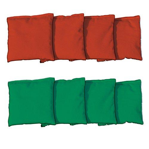 Price comparison product image Standard Cornhole Bags (4 Orange & 4 Kelly Green)