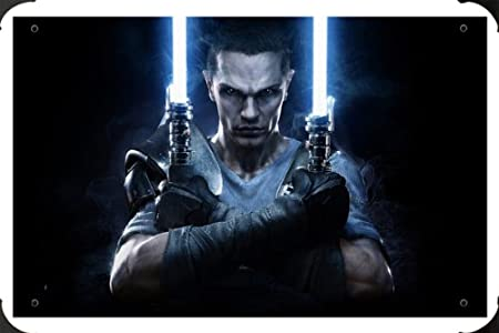 Star Wars The Force Unleashed 2 Starkiller metal poster ...