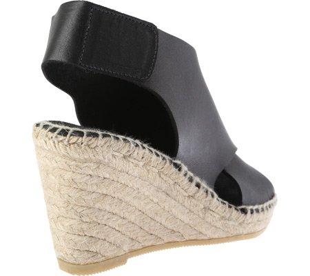 Kenneth Cole New York QUIN, Flache Sandalen Frauen Black Leather