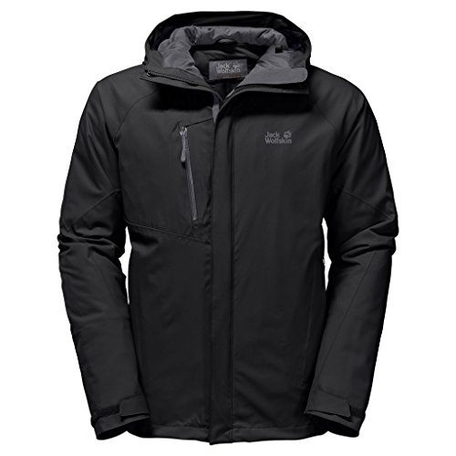 Jacket Jack Men's Troposphere Wolfskin Black pZnw6Bq