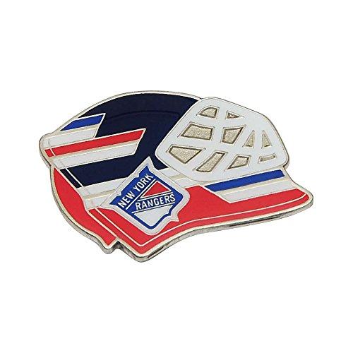 York Goalie New Rangers (NHL New York Rangers Goalie Mask Pin)