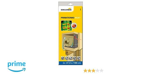 Schellenberg 66267 Rodillos aislantes para cajas de persiana 150 cm x 37.5 Set de 2 Piezas: Amazon.es: Bricolaje y herramientas