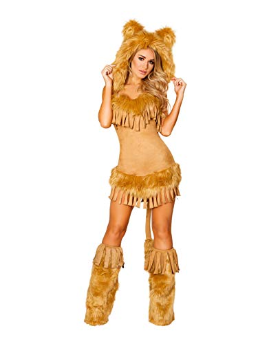 The Bashful Lion Adult Costume -