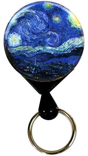 Buttonsmith Starry Night Retractable Alligator