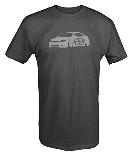 (Stealth - Scion TC Lowered Racing Lowered Custom T Shirt)