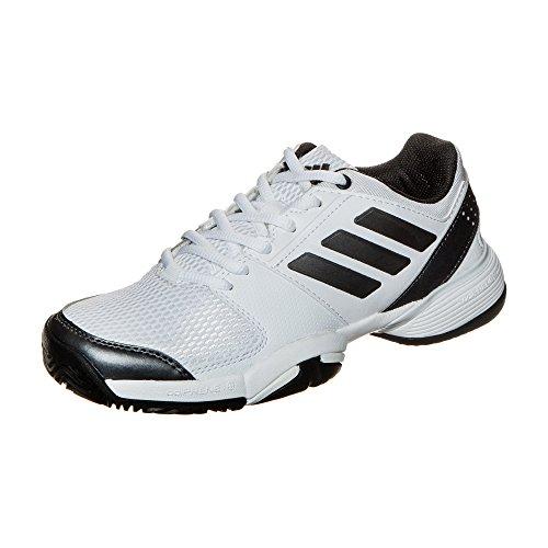 adidas–Zapatillas de tenis Barricade Club Synthetic Junior, Weiß, EU 40 - UK 6,5 Weiß