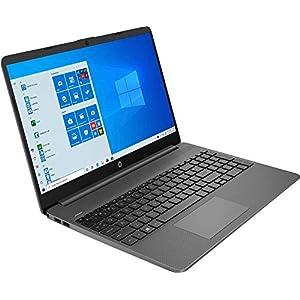 HP HP 15 15s-du2077tu 15-inch Laptop (i5-1035G1/4GB/1TB HDD + 256GB SSD/Windows 10 Home/Integrated Graphics), Jet Black