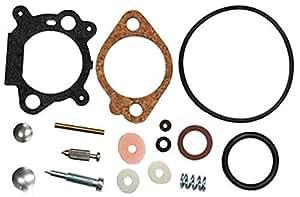Cortadoras de césped partes 10237Rotary Carbu Kit Compatible con Briggs y Stratton 498260/493762/492495