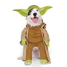 Rubies Costume Co Star Wars Collection Pet Costume, Yoda with Plush Arms, Medium