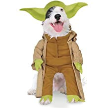 Rubies Costume Star Wars Collection Pet Costume, Yoda with Plush Arms, Small