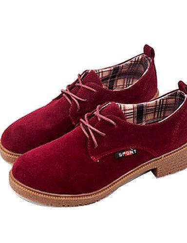 IOLKO njx Damen Schuhe Libo New Style Hot Sale Low Low Low Heel Comfort Oxford Office & Karriere Casual Schwarz Gelb Rot B01KHBS4DG Schnürhalbschuhe König der Menge 7e92b6