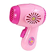 Plastic Simulation Hair Dryer Home Appliance for Kids Role Play Toys
