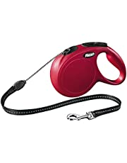 Flexi Classic Cord Retractable Dog Lead Red