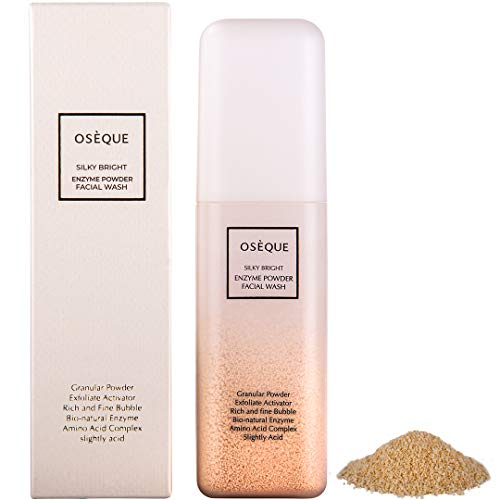 Oseque Silky Bright Enzyme Powder Facial Wash