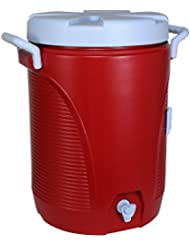 Rubbermaid Victory Jug Water Cooler, Modern Red, 5-gallon (1840998)